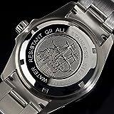 Gigandet Automatik Herren-Armbanduhr Sea Ground Taucheruhr Uhr Datum Analog Edelstahlarmband Blau Silber G2-009 - 6