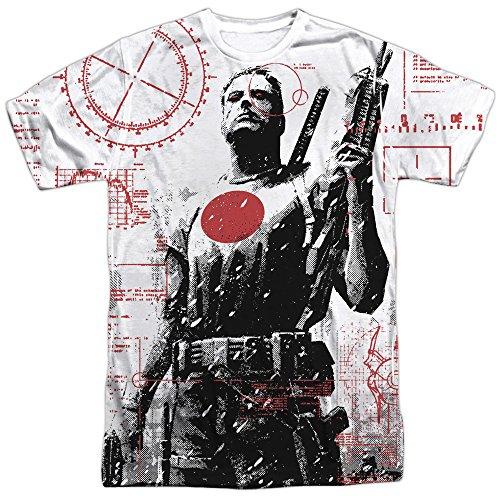 Bloodshot Herren T-Shirt Opaque weiß weiß Gr. Medium, weiß