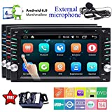 EinCar Backup-Kamera neuer Android 6.0 Quad-Core-Car DVD-Player 6.2 '' Touch-Screen-Auto-Stereo In Dash Navigation Tr?gern GPS-Hauptger?t Funkempf?nger Unterst¨¹tzung Bluetooth WiFi OBD2