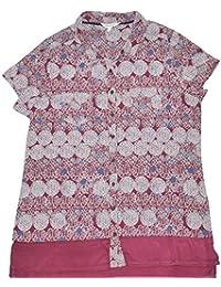 b5e48b56e7ccd Ladies Printed Short Sleeve Jersey Shirt