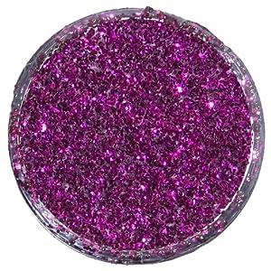 Snazaroo - Pintura facial y corporal con polvo de purpurina, 12 ml, color rosa fucsia