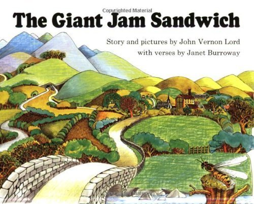 The Giant Jam Sandwich Book & CD (Read Along Book & CD) by Lord, John Vernon (2007) Paperback