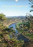 Elbsandsteingebirge (Wandkalender 2018 DIN A4 hoch): unterwegs in der sächsischen Schweiz (Monatskalender, 14 Seiten ) (CALVENDO Orte) [Kalender] [Apr 01, 2017] Ohmer, Jana
