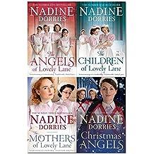 nadine dorries lovely lane series 4 books collection set (the angels of lovely lane, the children of lovely lane, the mothers of lovely lane, christmas angels)
