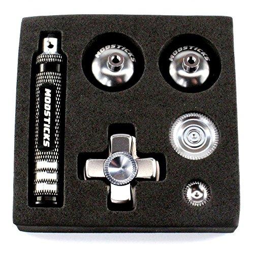 Preisvergleich Produktbild Modsticks Pro Stick Set passend für PS4® Controller - titanium