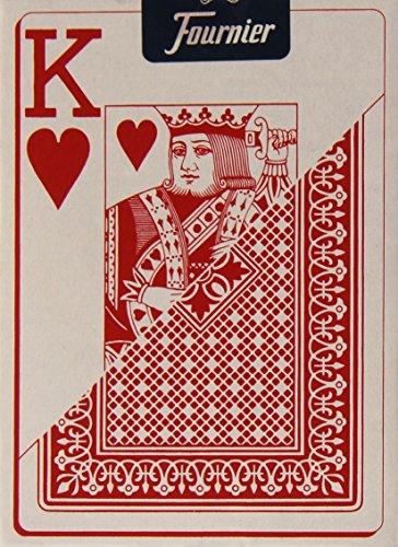Imagen principal de Fournier 818-55 - Baraja Poker en Inglés (55 Cartas), Surtido