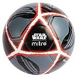 Mitre Unisex Star Wars Kylo Ren Fußball, Schwarz/Rot, Größe 5