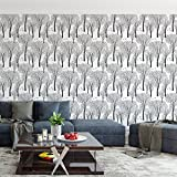#2: DeStudio Trees And Birds Wildlife Wallpaper Roll (Wall Covering Area : 51cms X 510cms)-14188