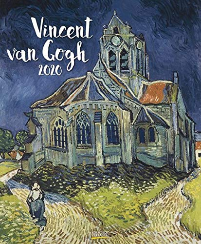Vincent van Gogh 2020: Kunstkalender mit Werken des Künstlers Vincent van Gogh. Großer Wandkalender mit Meisterwerken der modernen Malerei. Format: 45,5 x 55 cm, Foliendeckblatt
