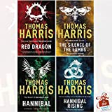 Hannibal Lecter Collection 4 Books Bundle By Thomas Harris With Gift Journal (Red Dragon, Silence Of The Lambs, Hannibal, Hannibal Rising)