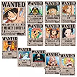 Loheag Clinor Cartello di Una Torta di Pane | Póster Monkey D Luffy, Sanji, Roronoa Zoro, Nami, Usopp, Chopper, Nico Robin, Franky, Brook, Jinbe Anime