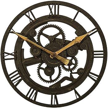 HYLR Horloge murale d horloge Horloge murale circulaire européenne de 14  pouces Salon de la mode créative rétro horloge murale nostalgique 4d79cc28777a
