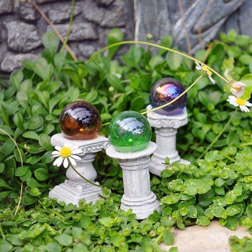 Fairy Garden Mini Gazing Globes,...
