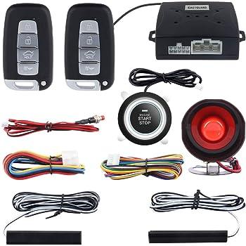 Car Alarms & Security Systems PKE Smart Key Car Alarm System