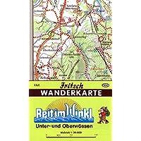 Reit im Winkl: Unter- und Oberwössen (Fritsch Wanderkarten 1:35000)