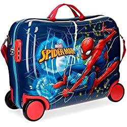 Marvel Spiderman Neo Equipaje infantil, 50 cm, 34 litros, Multicolor