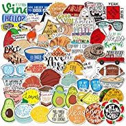 ZCF Fresh Vine Stickers Pack,Funny Meme Stickers for Teens and Adults,Vinyl Decals for Hydroflask Water Bottle