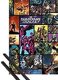 Póster + Soporte: Guardianes De La Galaxia Póster (91x61 cm) Comics Y 1 Lote De 2 Varillas Negras 1art1®