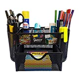 #2: DESCORG PEN PENCIL HOLDER DESK ORGANIZER BO9C002