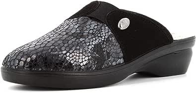 Valleverde Pantofole Donna 25236 Nero