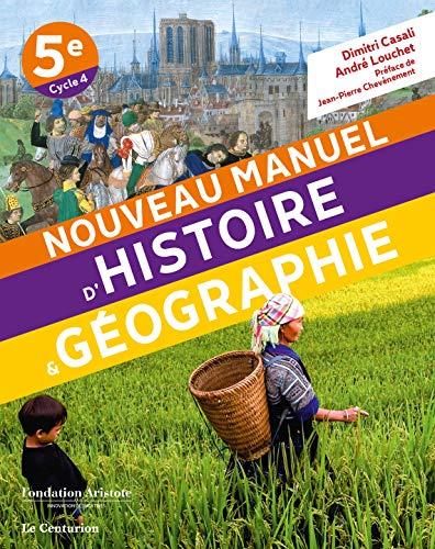 NOUVEAU MANUEL DŽHISTOIRE-GEOGRAPHIE 5e