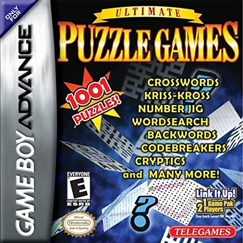 Ultimate Puzzle Games (GBA) by Telegames