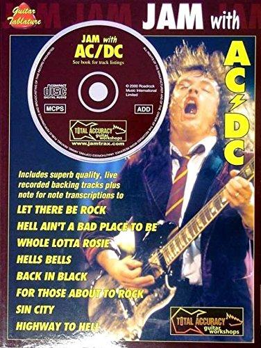 Jam With Ac/Dc Tab Bk/Cd (Tab Book): Songbook, CD, Grifftabelle für Gitarre - Ac Tabs