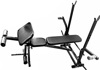 Protoner 7 in 1 Adjustable Bench with Removable Preacher Curl for Home Gym