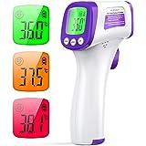 Termometro Infrarrojos JOYSKY Termometro Digital Infrarrojo sin Contacto con Pantalla LCD y Alarma de Fiebre Termómetro Laser