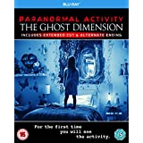 Paranormal Activity: The Ghost Dimension [Blu-ray] [2015] UK-Import, Sprache-Englisch.