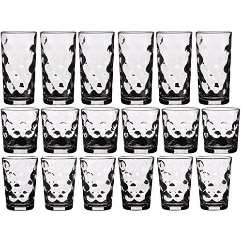 promobo-service-18-verres-ensemble-verre-a-pois-eau-long-drink-apro-et-orangeade