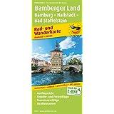 Bamberger Land, Bamberg - Hallstadtt - Bad Staffelstein: Rad- und Wanderkarte mit Ausflugszielen, Einkehr…