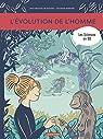 Les sciences en BD : L'évolution de l'homme par Panafieu