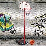 Infantastic Basketballständer mit Rollen | höhenverstellbar bis 236 cm, für drinnen und draußen | Basketballkorb mit Ständer, Basketballanlage, Hoop Stand für Kinder