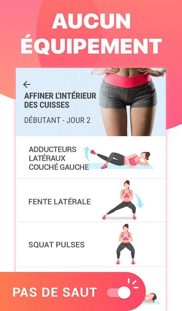 Exercices Jambes Pour Affiner Les Cuisses Amazon Fr Appstore Pour Android