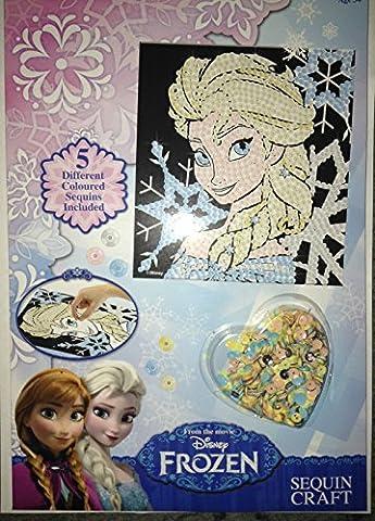 Disney FROZEN Elsa Sequin Craft Art Christmas Stocking Filler BNIB
