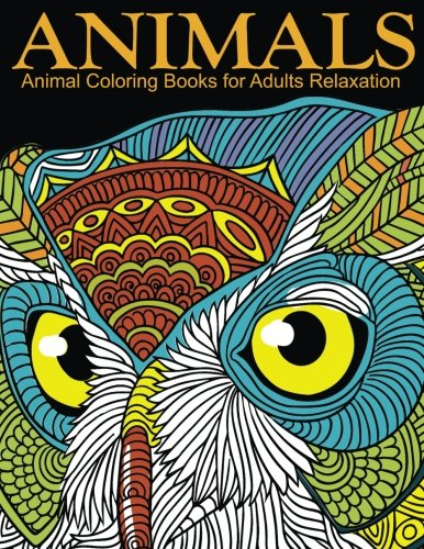 Animal Coloring Books For Adults Relaxation Extra Pdf Download Onto Your Computer For Easy Printout