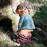 Gärtner Pötschke Gartenfigur Gnom Erni mit heruntergelassener Hose (Bild: Amazon.de)
