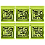 Ernie Ball Regular Slinky Nickel Wunde E-Gitarre Saiten 6 Pack - 10-46 Gauge