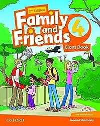 Family and Friends 4 : Class Book (1Cédérom)