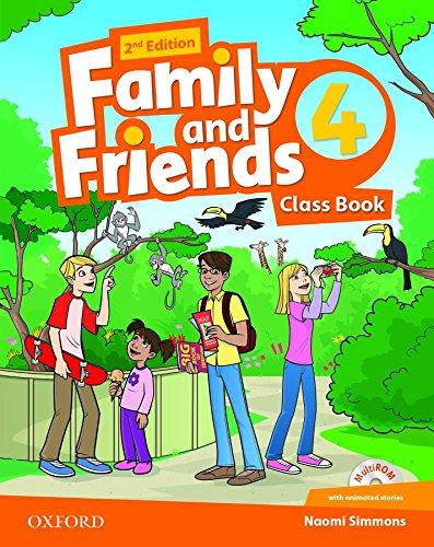 Family and friends. Classbook. Per la Scuola elementare. Con espansione online: 4