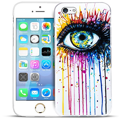 iPhone 4S , 4 Bilder Case, Conie Mobile Motiv Hülle Backcover Rückschale, Silikon TPU Schutzhülle Motiv 4