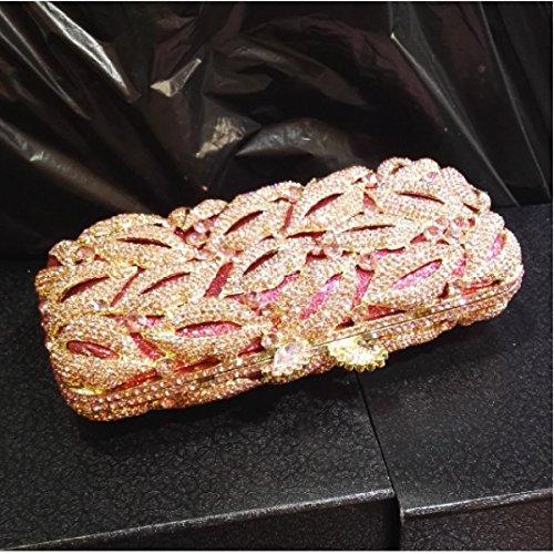 Diamant Griff Tasche Luxus Abendtasche Kristall Frauen B