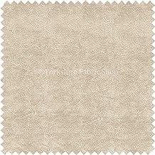 Suave triturada como material de terciopelo Chenille tela de tapicería color crema marfil color cojines sofás cortinas artesanías sillas