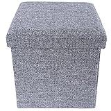 Songmics LSF27H Faltbarer Sitzhocker Belastbar bis 300 kg