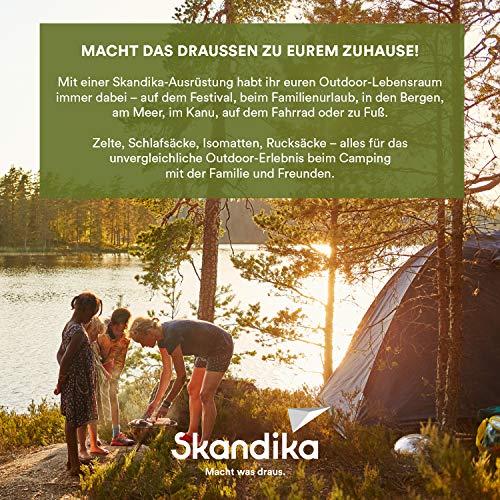 Skandika Montana 8-Personen Familienzelt, 2 trennbare Schlafkabinen, 5000mm Wassersäule, 200cm Stehhöhe - 7