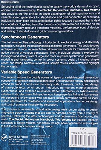 The Electric Generators Handbook - 2 Volume Set (Power Engineering)