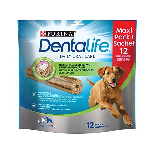 Purina dentalife Snacks pour grand chien Lot de 5(5x 426g)
