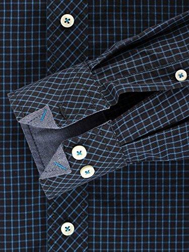 CASAMODA Herren Businesshemd Regular Fit Dunkelblau