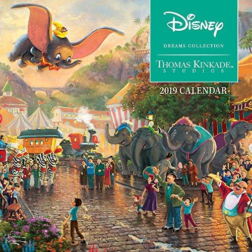 Free Online Books Thomas Kinkade: The Disney Dreams Collection 2019 Mini Wall Calendar RTF